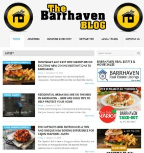 The Barrhaven Blog