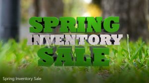Spring Inventory Sale Promotional Video
