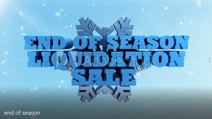 Winter End of Season Sale - Marketing and Advertising Video