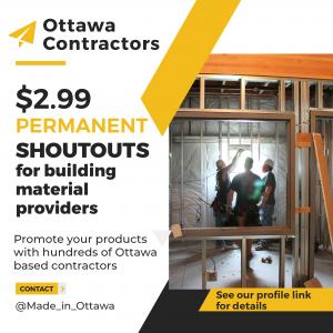 Marketing and Advertising for Ottawa Building Materials Suppliers