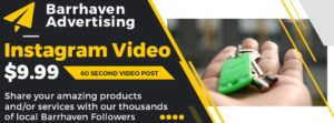 Barrhaven Instagram Advertising and Marketing - Video Post